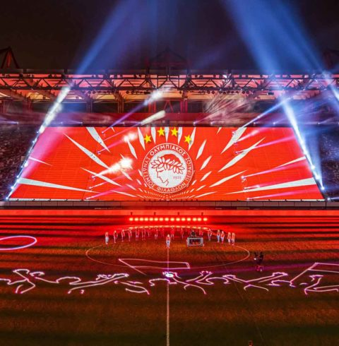 Blog – Olympiacos 45th Championship Ceremony