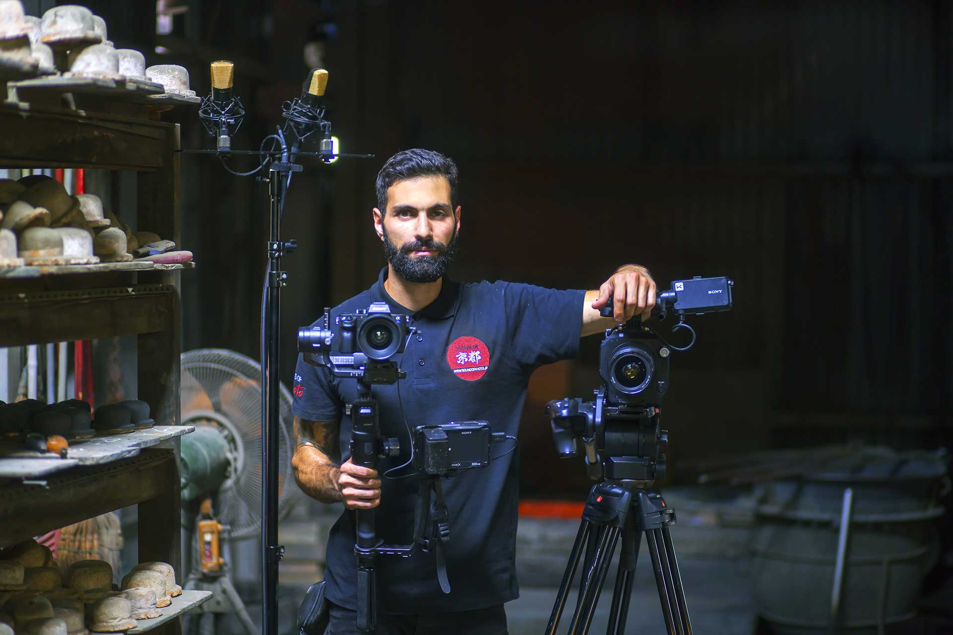 Kostis Nikolas (Cinematographer, Sound of Kyoto)